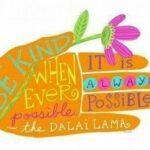 Be Kind Dalai Lama